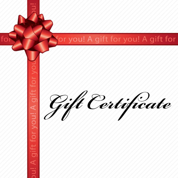 Gift certificates souler float size negle Gallery